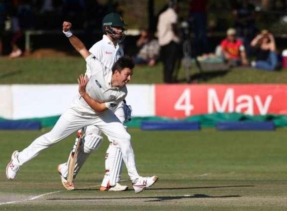 Cricket: New Zealand dominate Zimbabwe