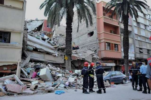 Casablanca building collapse kills two, woman missing