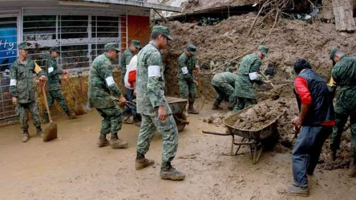 Mexico landslides leave 11 dead as new storm forms