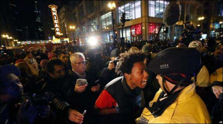Chicago: Protest against killing of black by Chicago police
