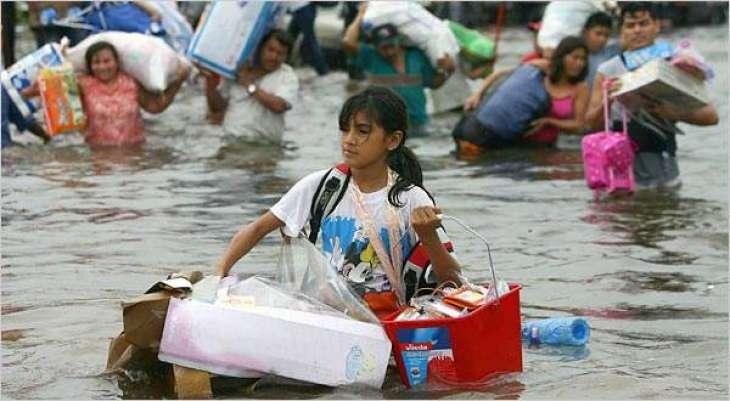 Flood-stricken Mexico faces several casualties