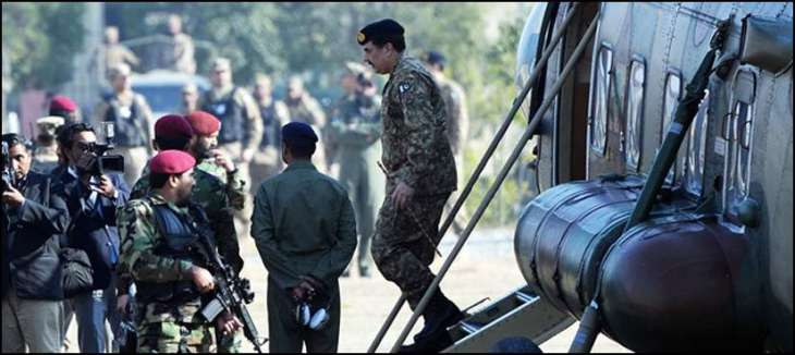 Army Chief arrived at Civil Hospital in Quetta, visited the injured