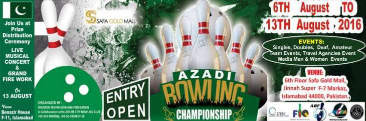 Azadi Cup Tenpin Bowling C'ship kicks off