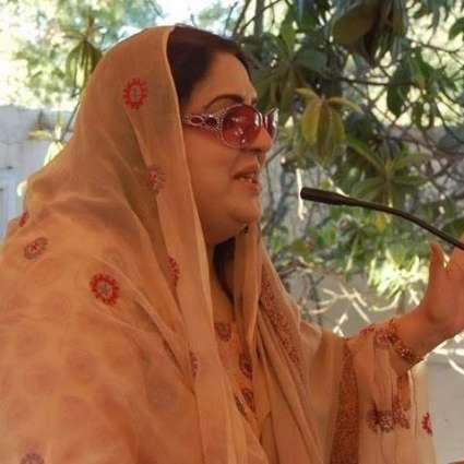 پاكستان تحريك انصاف حكومت خېبر پښتونخوا كښې اولس له هېڅ نه دي كړي۔ طاهره بخاري