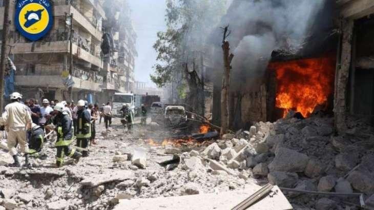 سوريه ٬ حلب كښې نښتې روانې دي