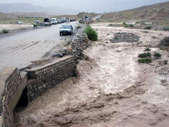 بلوچستان٬ په لهړي ضلع كښې 2 ماشومانې سېلاب لاهو كړې