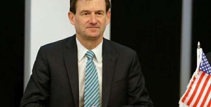 American Ambassador David Hale Condemns terrorist attack in Quetta