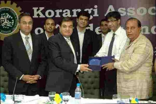 Korangi's industry faces problems after rainfall: KATI President