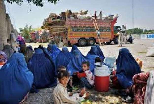 20,000 Afghan families repatriated during August