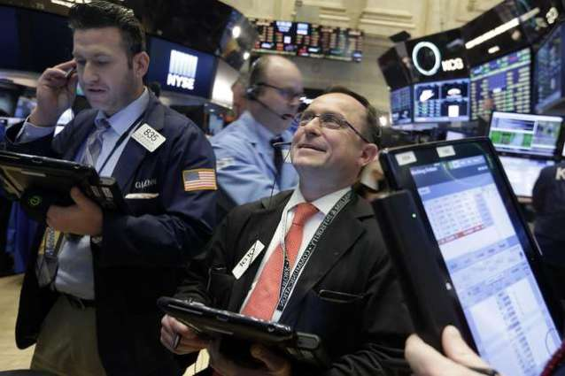 US stocks edge up on higher oil prices, Wal-Mart deal