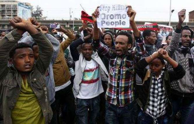Dozens killed in weekend Ethiopia protests: opposition, diplomat