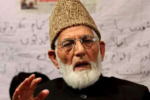 Gilani urges people to greet Indian Members Parliament with pro-freedom slogans