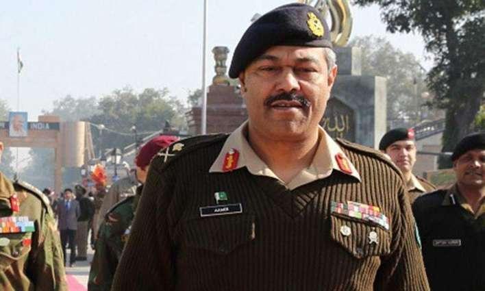 Commander Southern Command Lieutenant Amir Riaz  will meet Asif Anwar Kasi's family