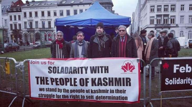 Kashmir Council EU boosts its signature campaign on Kashmir: Calling for EU's facts finding delegation