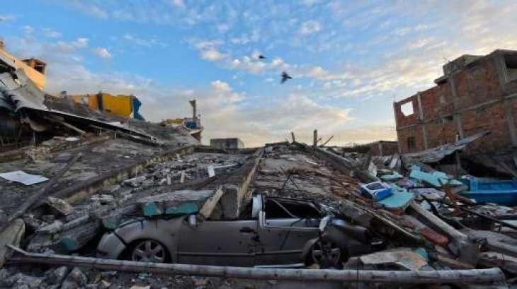 4.6-magnitude quake causes light damage, blackouts in Ecuador