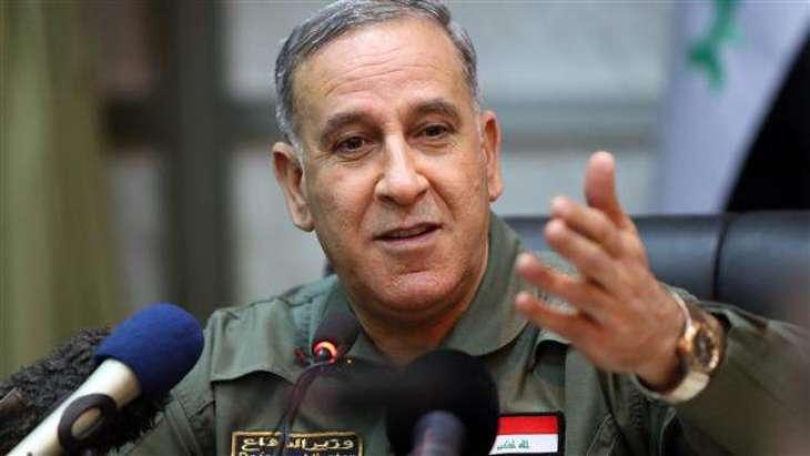 د عراق دفاع وزير د داعش په بريد كښې روغ وتو