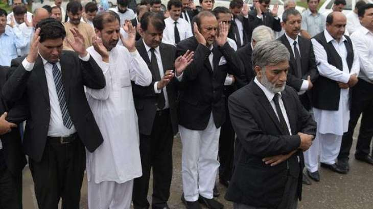Funeral prayer of Quetta blast victims offered in absentia