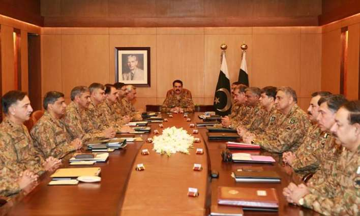 Pak Army Core Commander Conference chaired by Army Chief  is underway