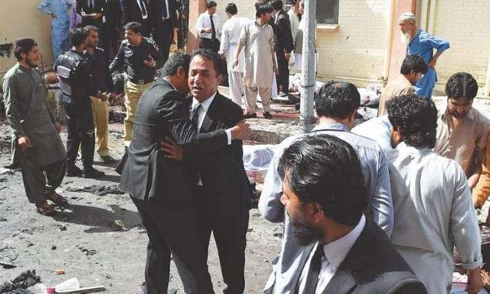 د كوئټه په پېښه كښې پاكستان مخالف قواﺀ ككړ دي۔ دښمن اقتصادي راهداري سرته رسېدل نه غواړي۔ د مسلم ليګ (ن) غړي جاوېد لطيف ميډيا سره خبرې