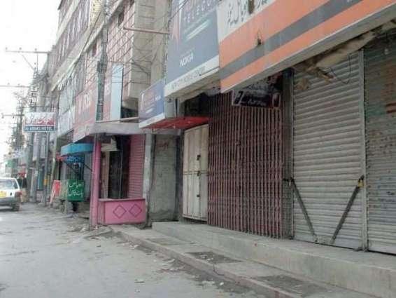 Shutter down strike observed in Quetta