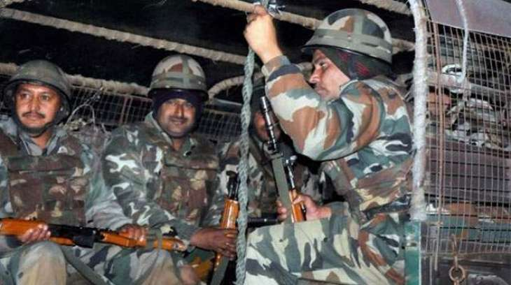 Security forces conduct search, combing operation in Thall