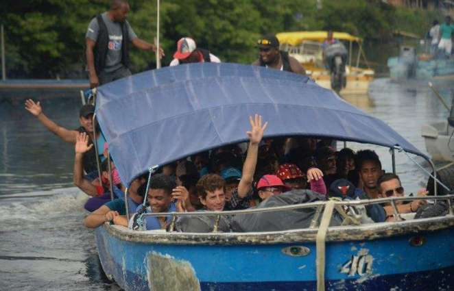 Panama agrees to help migrants head on for US