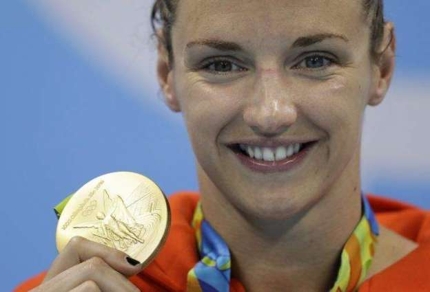 Olympics: 'Iron Lady' Hosszu wins 200m medley for third gold