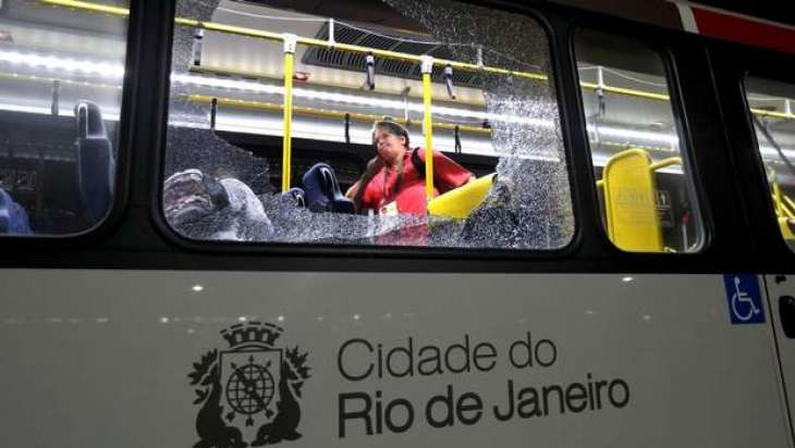 Olympics: Bullets suspected in Olympic bus attack