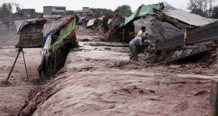 Two killed, 42 injured in rain related incidents