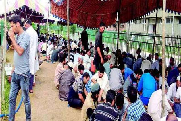 Police close down Jamaat relief camp in Baramulla Hosptial