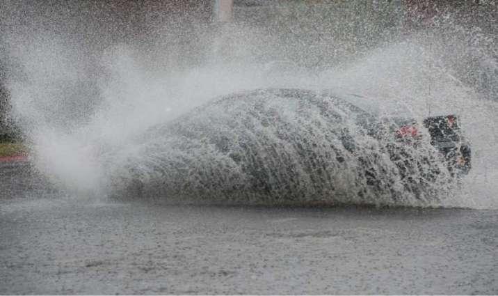 Heavy rain in city, more likely