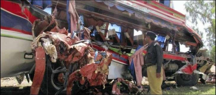 سیالکوٹ،ٹریفک حادثیں اچ 4 بندے زخمی
