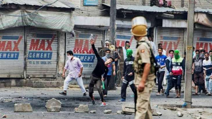 Occupied Kashmir suffers from strikes and curfew for the consecutive 33rd day