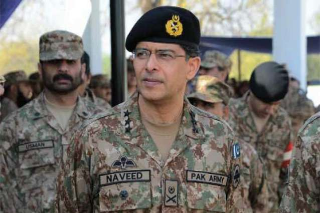 Karachi Corps Commander visited the victims of Quetta Carnage