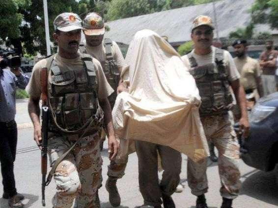 Rangers arrests seven accused in targeted raids