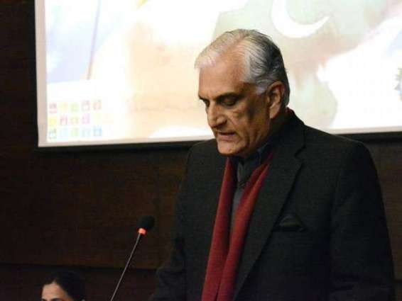 Pakistan evolves comprehensive strategy to address Climate Change issues: Zahid Hamid