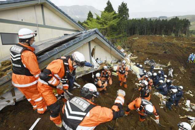Body believed to be last quake victim found in Japan's south