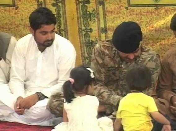 Lieutenant General Amir Riaz won everyone's heart