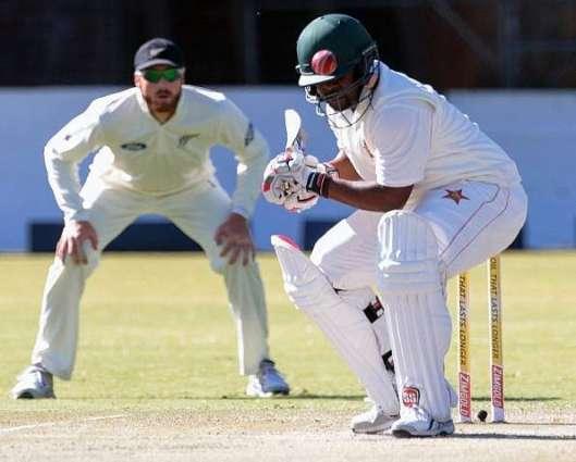 Zimbabwe v New Zealand 2nd Test scoreboard