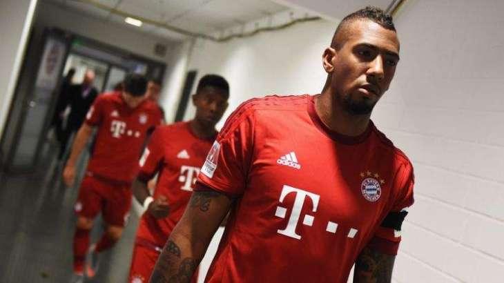 Football: Injured Boateng returns to Bayern training