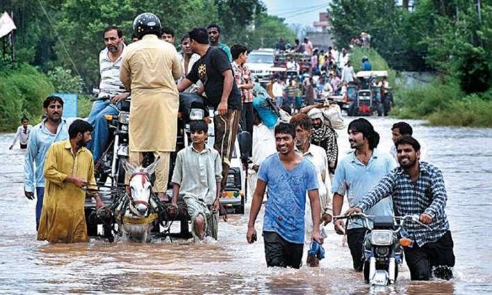 Sialkot receives heavy rains