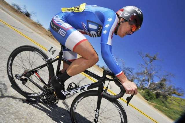 Olympics: Armstrong completes hat-trick of golds with time-trial win