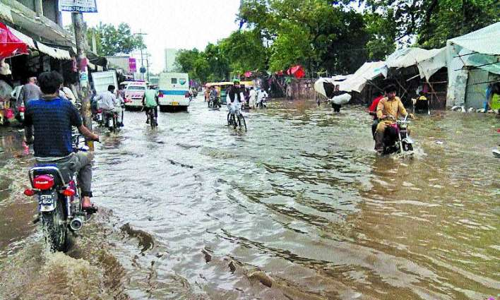 Minister orders disposal of rainwater in Sialkot city