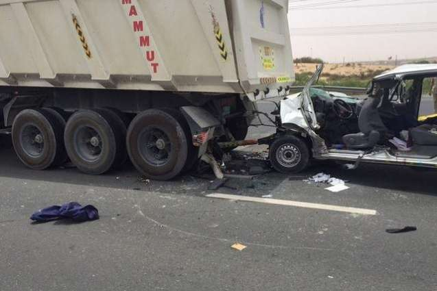Two killed, four injured in road accidents
