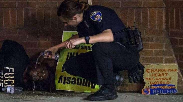 US report reveals racial bias at Baltimore police