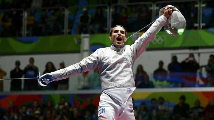 Olympics: Hungary's Aron Szilagyi retains fencing sabre title