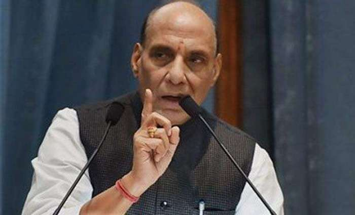 No power can separate Kashmir from India, Rajnath Singh