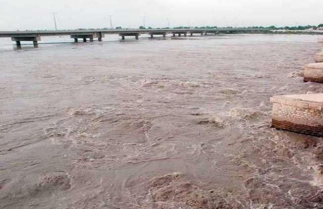Rivers Indus still in low flood