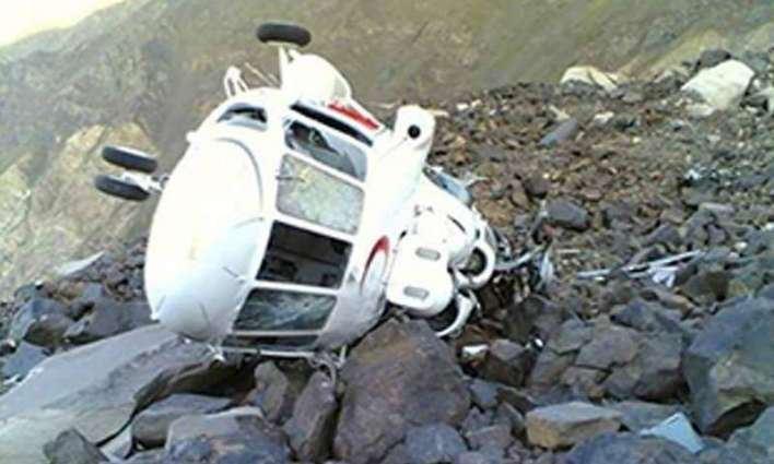 On Punjab government's helicopter that crash-landed