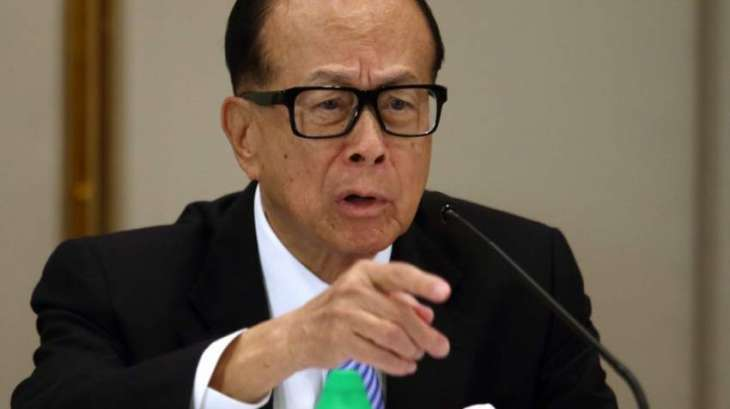 Hong Kong tycoon Li beats forecasts as profits rise